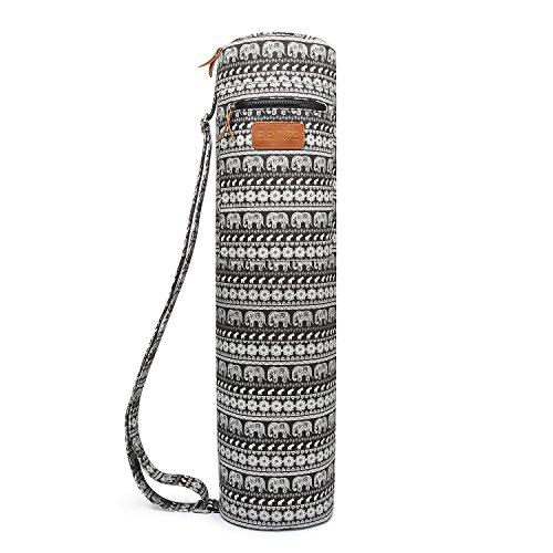 Elenture zippé d'exercice Tapis de yoga Sac de transport avec multifonction/poches de rangement, Jubilee