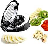 Coupe-oeuf en acier inoxydable Cutter 2 en 1 Egg wedger pour sandwich et salade Kiwi