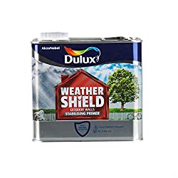 Dulux Ready For Use Total Weather Protection Weathershield Exterior Walls Stabilising Primer - 2.5L - Clear
