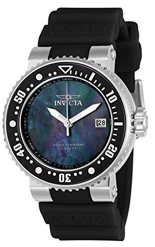 Invicta Damen-Armbanduhr Analog Quarz - Watch Bands Invicta Silikon