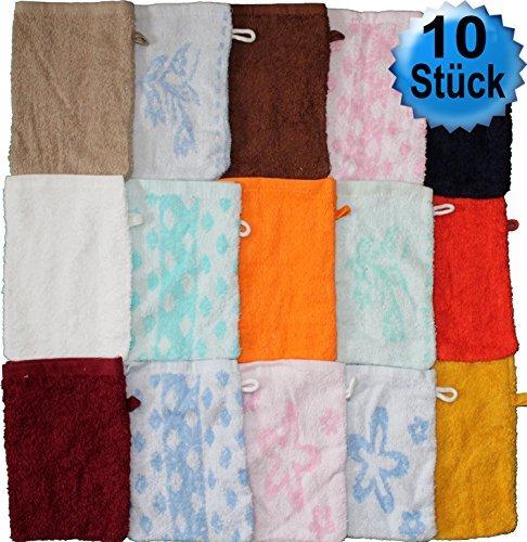 10 pcs manopla de toallas