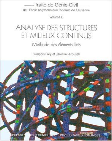 Analyse des structures et milieux continus. Méthode des éléments finis