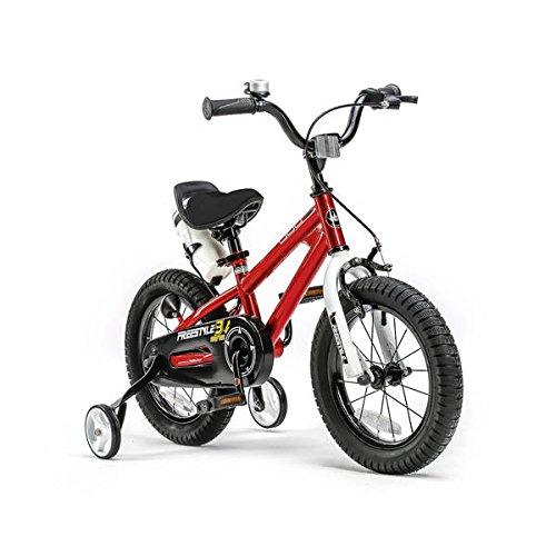 RoyalBaby BMX Freestyle Kinderfahrrad für Jungen und Mädchen, 12-14-16-18 Zoll mit Stützrädern und Parkstütze