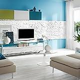 Paneles de poliestireno expandido / Benevento blanco/ revestimiento de piedra / decoración para paredes / azulejos/ revestimiento para paredes