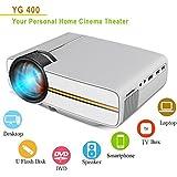 Samyu Yewang LED 1080p Projector For Home Cinema Mini Portable Projector Full HD 3D HDMI VGA USB SD LED Projector 800x600 Pixels (SVGA) - B078QB6V4V