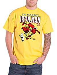 IronMan Iron Man T Shirt The Invincible Nuevo Oficial de Los Hombres Marvel Comics