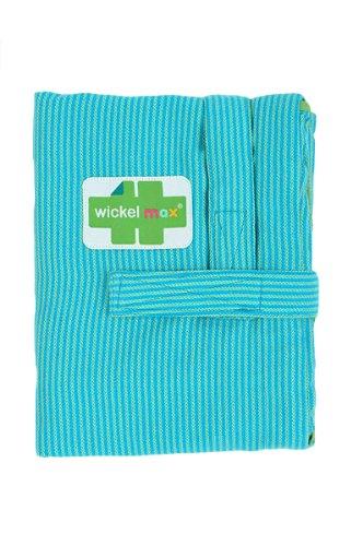 HOPPEDIZ Wickelmax - Dein Wickeltisch für unterwegs - Design Acapulco (Wickeltasche Feuchttücher Fall)