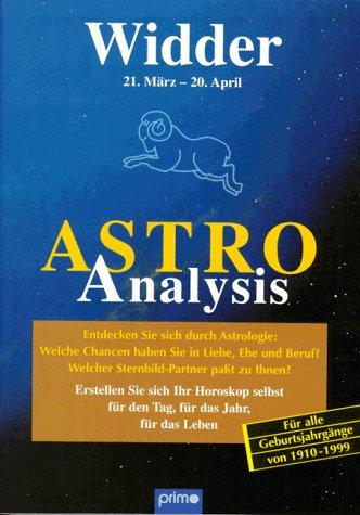 Astro-Analysis, Widder