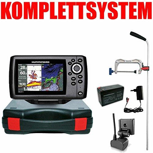 Humminbird Echolot GPS Portabel Profi Edition Komplett - Helix 5 Chirp GPS G2