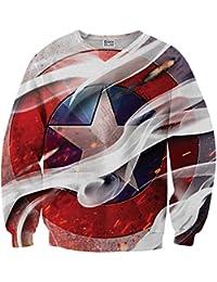 Sudadera Sweater Estrella Capitan America MV-MA046