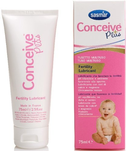 Conceive Plus Gel Lubricante Fertilidad Tubo Multiuso