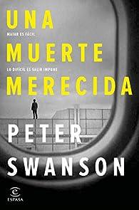 Una muerte merecida par Peter Swanson
