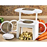 Veg-O-Matic Food Preparer With Wedge Attachment, Food Slicer Dicer, Slice And Dices, Kitchen