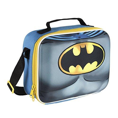 DC 2100001615Batman 3D-Anzug-Kühltasche, Lunch Bag