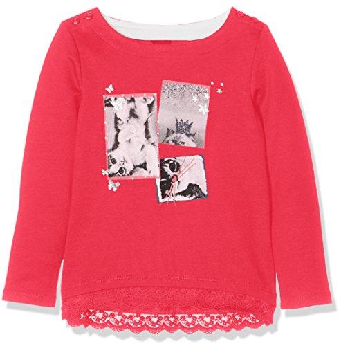 s.Oliver Mädchen 53.708.41.5223 Sweatshirt, Rosa (Purple/Pink 4518), 116 (Herstellergröße: 116/122)