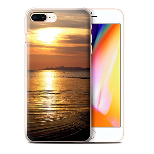 STUFF4 Phone Case / Cover for iPhone 6+/Plus 5.5 / Treeline Design / Sunset Scenery Collection Mare