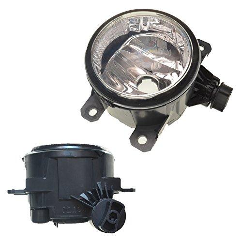 Guteauto 1Pair 33900-STK-A01 / A11 Fahrer Beifahrerseiten Nebelscheinwerfer mit H11 Halogenlampen 33951-TY0-305 33900-T0A-A01 (2015-honda Civic-zubehör)