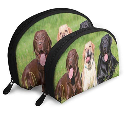 Beutel Zipper Toiletry Organizer Reise Make-up Clutch Bag Funny Labrador Retriever Aufbewahrungsbeutel -