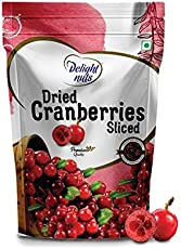 Delight Nuts Dried Cranberries Sliced - 200g