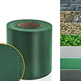 Brise vue rouleau casa pura idéal pour conserver votre intimidé | brise vue PVC résistant | protection vent/soleil | 7 couleurs au choix | vert, 19cmx35m