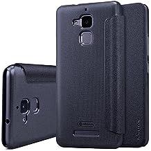 """Asus Zenfone 3 Max ZC520TL 5.2"""" Funda - SMTR® Alta calidad Slim Fit Flip Case Cover Funda cubierta para Asus Zenfone 3 Max,(negro)"""