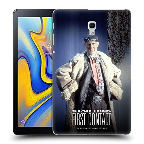 Head Case Designs Offizielle Star Trek Volles Kostüm Zefram Cochrane Der Erste Kontakt TNG Ruckseite Hülle für Samsung Galaxy Tab A 10.5 ()
