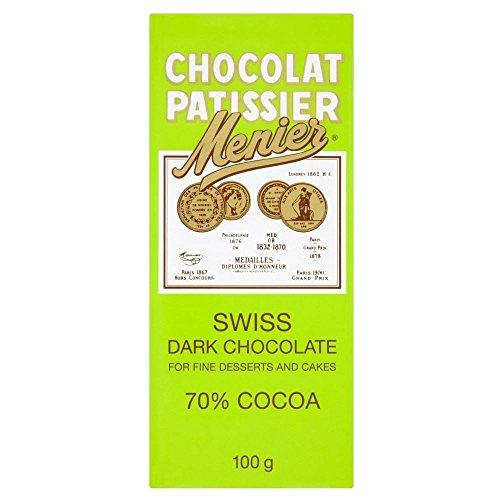 Menier Schweizer Dunkle Kochschokolade (100 G)