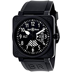 Bell and Ross Aviation BR01 Flight Instruments Men's Watch BR01-ALTIMETER