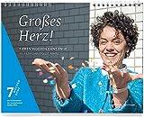 Großes Herz! Sieben Wochen ohne Enge. Tageswandkalender. 7 Wochen Ohne 2016 (edition chrismon)