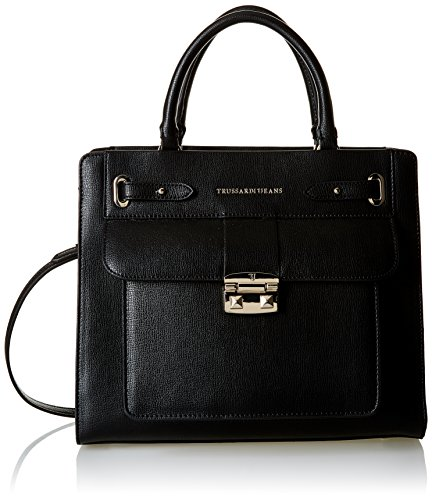Trussardi Jeans 75B460, sac à main femme 21 cm