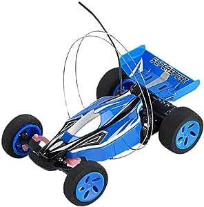 mini voiture de course t l command e mod le bleu amazon. Black Bedroom Furniture Sets. Home Design Ideas