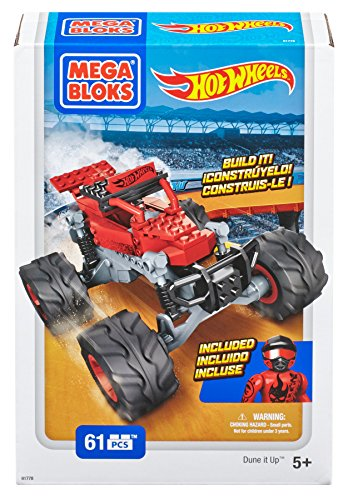 Hot Wheels - Monster Truck, color rojo (Mega Brands 91778)