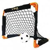 Gorilla Training Kids 'Rocket Pop up Goal-Twin Pack, Schwarz/Orange, S