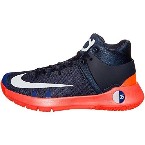 Nike Herren Kd Trey 5 Iv Basketballschuhe Negro (Obsidian / White-Bright Crimson)