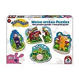 Schmidt Spiele Puzzle 56242Teletubbies, Il Mio Primo Puzzle, 6X 3Contorno Puzzle