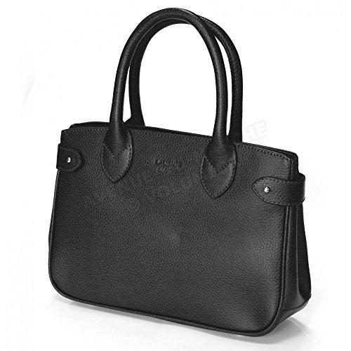 Mini sac à main paris cuir Fabrication Luxe Française Gris