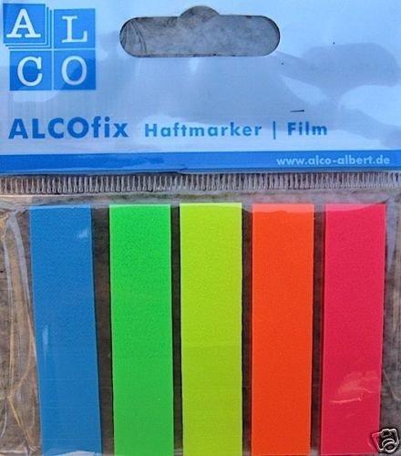 ALCOfix Haftmarker Film Haftnotizem 6834  125 Streifen