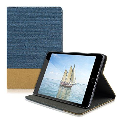 kwmobile Elegante custodia in tela ecopelle per Apple iPad Mini