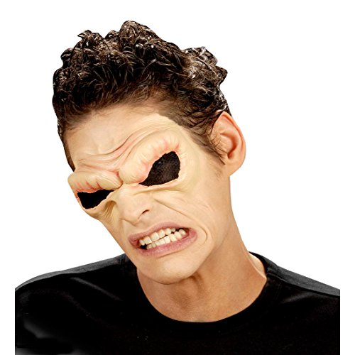 Teufelsaugen Horrormaske Latexmaske Halloween Alien Maske Dämon gruselige Masken Kostüm (Kostüme Halloween Dämon Masken)