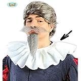 Gorguera cuello de Cervantes de fieltro