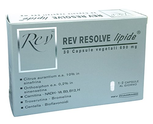 Rev Resolve Integratore Alimentare 30 Capsule Vegetali