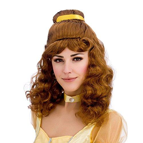 Beautiful Princess Wig ** - Kostüm Mädchen Mit Dem Braunen Haar