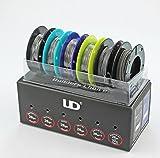 Original Youde UD Wire Box (10m Kanthal A1 26ga, 10m Ni200 26ga, 10m SS316L 26ga, 10m Nichrome 26ga, 5m Kanthal A1 28ga x 3 Twisted, 5m Kanthal A1 26ga + 32ga Clapton Wire)
