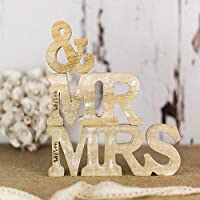 Personalised Mr & Mrs Wedding Sign - Rustic Wedding - Wood Mr and Mrs - Wooden Letters - Personalised Letters - Wedding Table - Wedding Gift