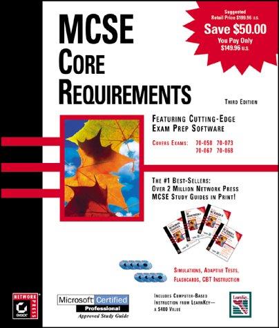 MCSE Core Requirements (Box Set/ McSe) por James Chellis