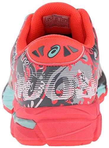 Asics Gel-Noosa Tri 11 GS Running Shoe (Little Kid/Big Kid) White/Diva Pink/Mint