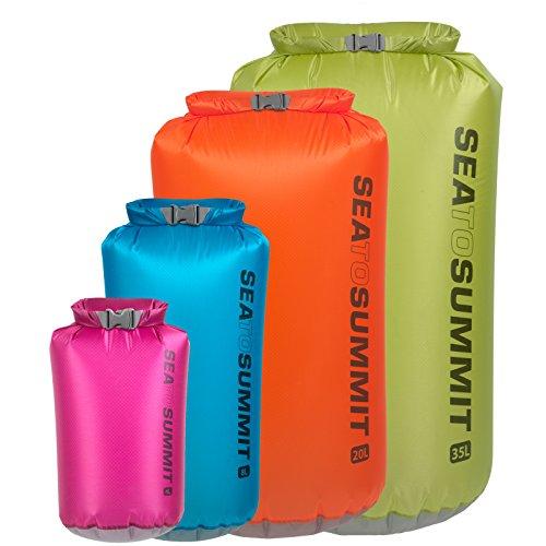 Sea to Summit Ultra Sil Drysack 20L - orange - Volumen 20 L. - Ultra Sil 30D - Hypalon Rollverschluss -