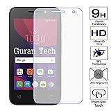 Guran® Displayschutz Glasfolie für Alcatel OneTouch Pixi4 (4,0 Zoll) Smartphone Hartglas Schutzfolie Film