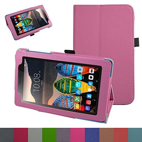 Lenovo Tab3 A7-10 / Tab 3 7 Essential Funda,Mama Mouth Slim PU Cuero Con Soporte Funda Caso Case para 7