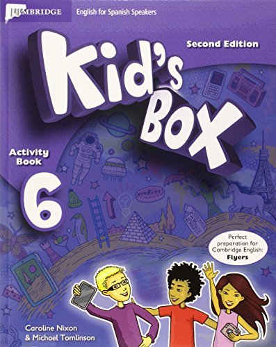 Kid's Box for Spanish Speakers Level 6 Activity Book with CD ROM and My Home Booklet by Caroline Nixon (2015-04-16)